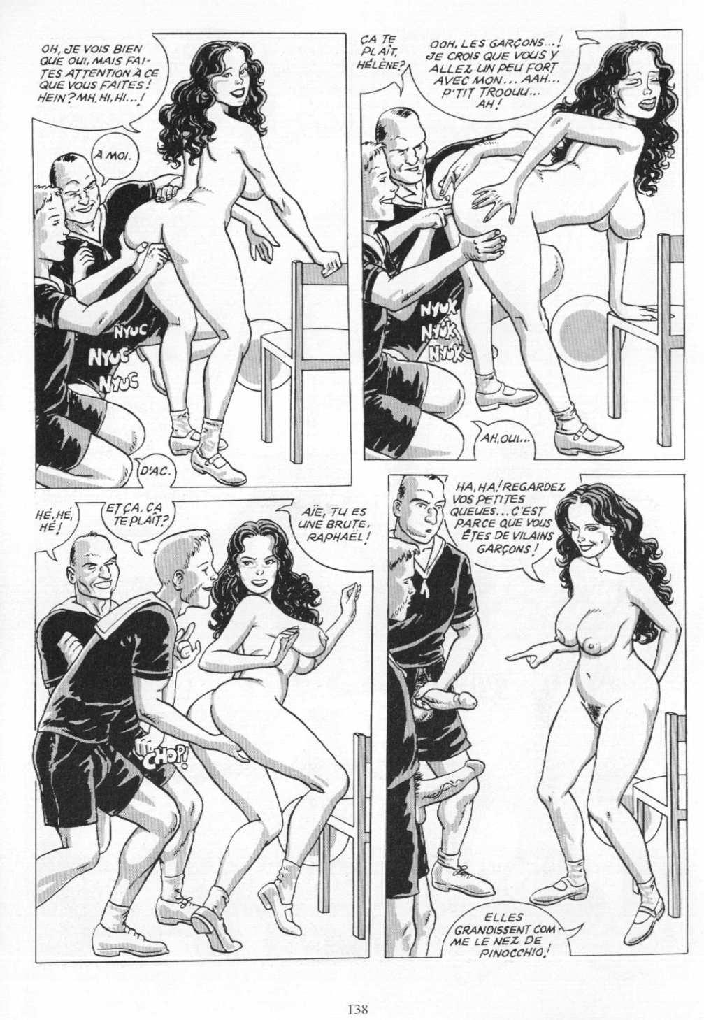 Sexe de bande dessinée téléchargeable