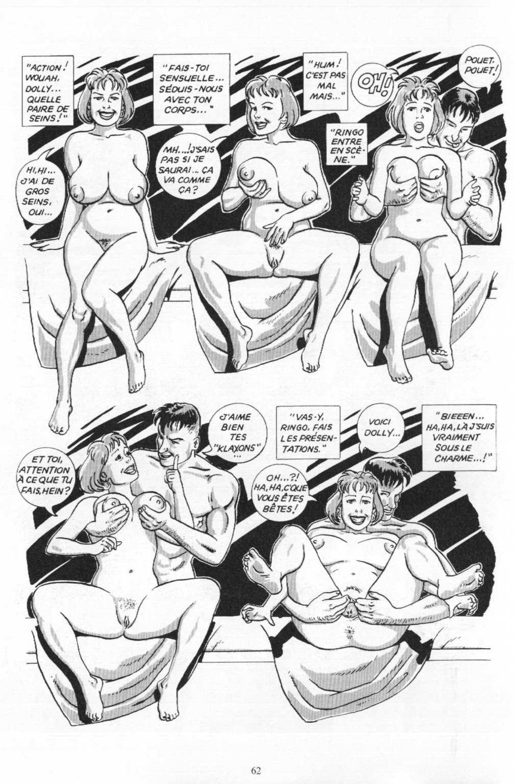 le sexe de bande dessinée sexe russe