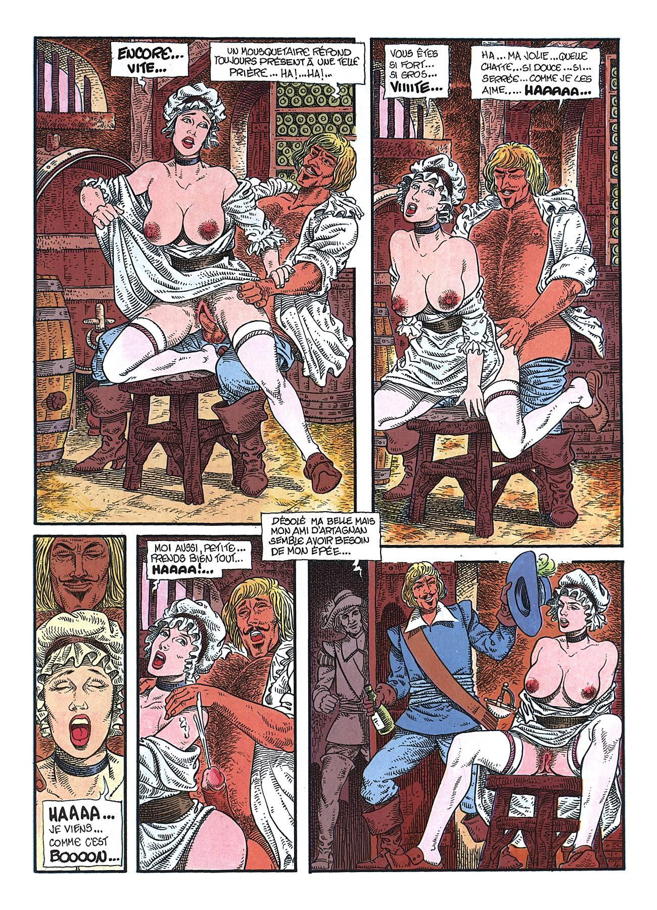 Les mousquetaires de sexe et d039epee prt 3 gr2 - 3 part 6