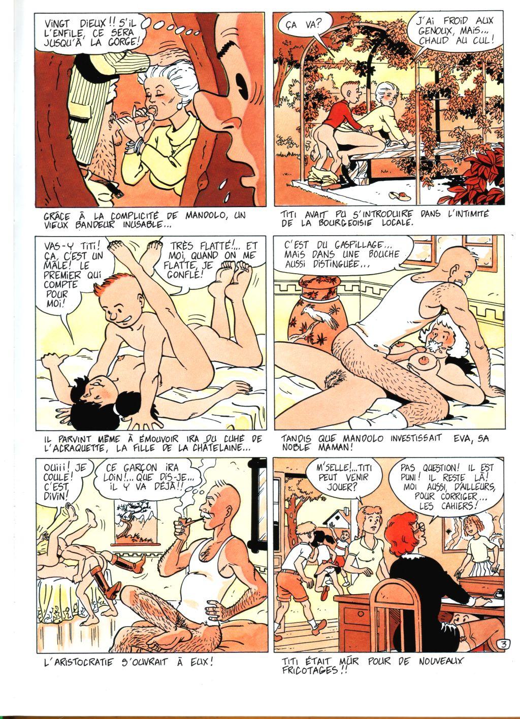 bd et illustration adulte porno sexe