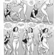 le sexe de la bande dessinée gros sexes