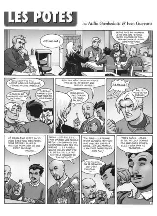 Les Potes 7 de Atilio Gambedotti, Ivan Guevara