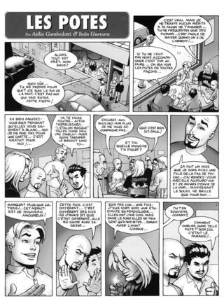 Les Potes 2 de Atilio Gambedotti, Ivan Guevara