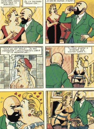 La vie sexuelle de Tintin de Bucquoy