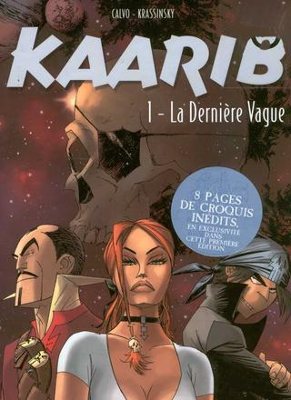 Kaarib 1 La Derniere Vague par David Calvo, Jean-Paul Krassinsky