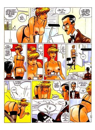 La Secretaire par Dick Matena
