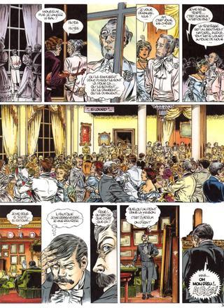 Les Jardins de la Peur 3 Les Cauchemars de Nils Fallon par Eddy Paape, Jean-Claude Sohier, Jean Dufaux