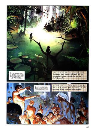 La Terre Sans Mal par Emmanuel Lepage, Anne Sibran