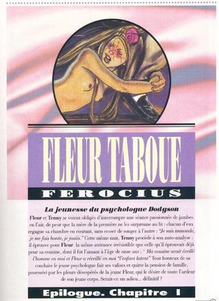 Fleur Taboue de Ferocius