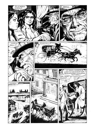 L'Antre de la Terreur par Francisco Solano Lopez, Barreiro