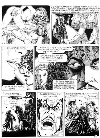 La Veuve de Giovanni Degli, Esposti Venturi