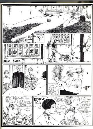 Histoire d'O 1 de Guido Crepax