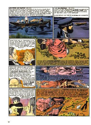 Le Mystere de Marie Roget de Guido Crepax