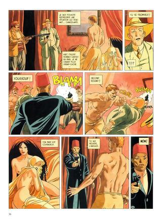 Djinn 3 Le Tatouage par Jean Dufaux, Ana Miralles