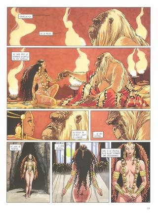 Djinn 9 Le Roi Gorille par Jean Dufaux, Ana Miralles