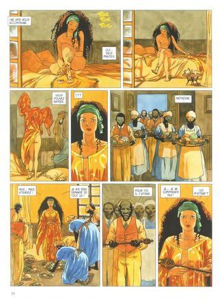 Djinn 5 Africa par Jean Dufaux, Ana Miralles