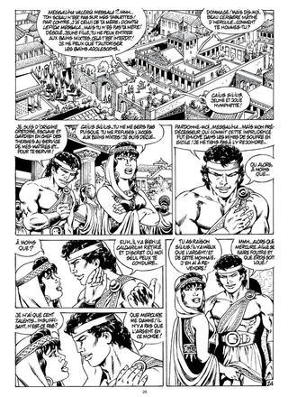 Messalina 1 Le Temple de Priape de Jean-Yves Mitton
