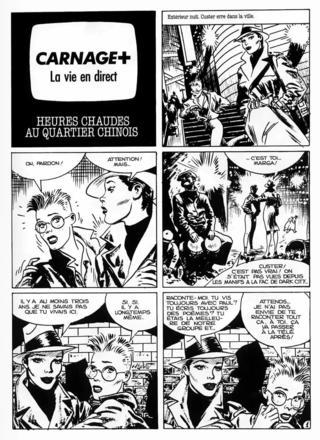 Carnage Plus 4 par Jordi Bernet, Carlos Trillo