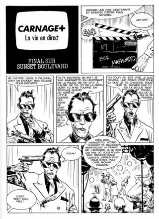 Carnage Plus 7 par Jordi Bernet, Carlos Trillo