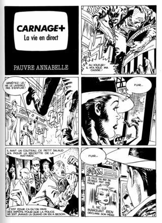 Carnage Plus 6 par Jordi Bernet, Carlos Trillo