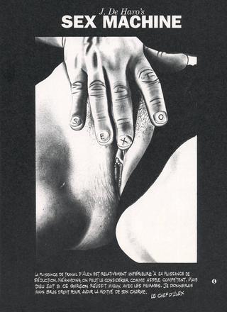 Sex Machine 6 par Josep de Haro