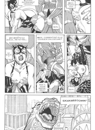 Gotzilla vs Catwoman de Messina