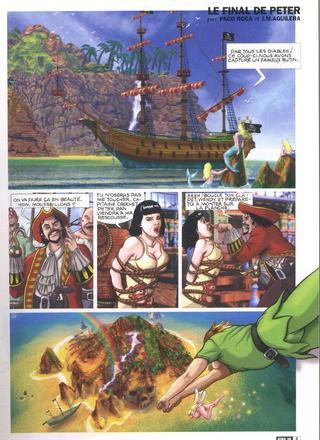 Le final de Peter Pan de Paco Roca, Aguilera