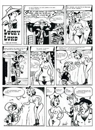 Les Aventures Sexuelles de Lucky Luke de Paul Schuurmans