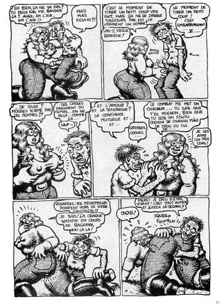Les Horribles Obsessions de Robert Crumb