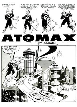 Atomax par Yves Chaland