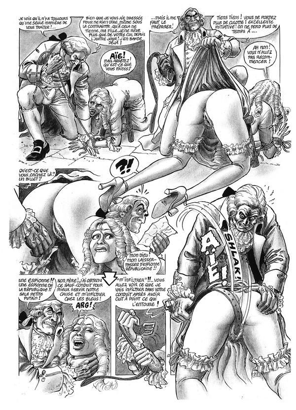 le sexe violent le sexe de bande dessinée