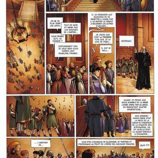 La Geste des Chevaliers Dragons 9 Aveugles par Alberto Varanda, Ange