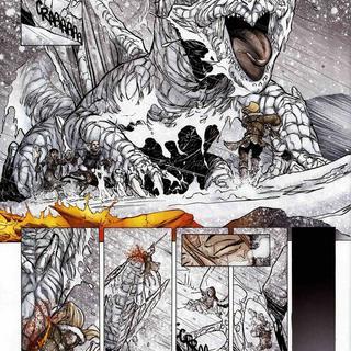 La Geste des Chevaliers Dragons 6 Par-dela les Montagnes par Alberto Varanda, Ange