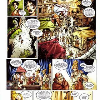 La Geste des Chevaliers Dragons 5 Les Jardins du Palais par Alberto Varanda, Ange