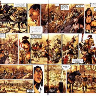 La Geste des Chevaliers Dragons 4 Brisken par Alberto Varanda, Ange