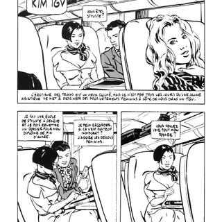 Kim TGV par Alex Varenne
