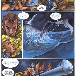 Leviathan de Alfonso Azpiri