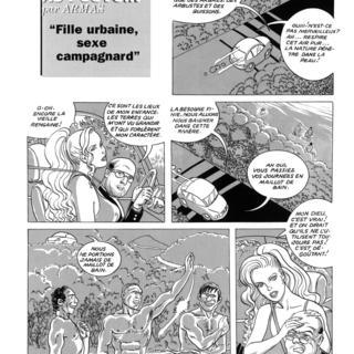 Sexe de bande dessinée extrême