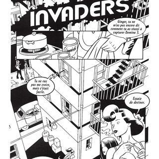 Domina Invaders 2 par Baldazzini