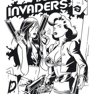 Domina Invaders 1 par Baldazzini