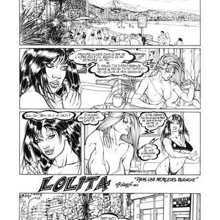 Lolita 14 Dans une Mercedes Blanche de Belore