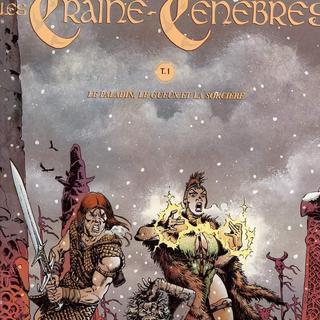 Les Traine-Tenebres 1 Le Paladin le Gueux et la Sorciere par Brice Tarvel, Peter Nielsen