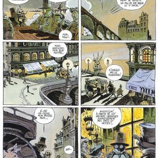 Le Pont dans la Vase 1 L'Anguille par Chomet, Chevillard