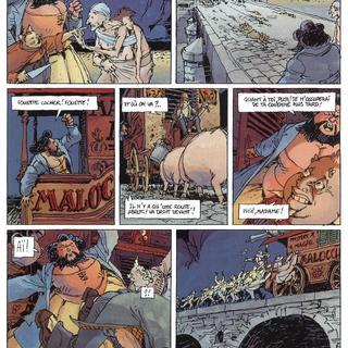 Le Pont dans la Vase 3 Malocchio par Chomet, Chevillard