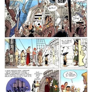 Capitaine La Guibole par Christian Rossi, Enrique Abuli