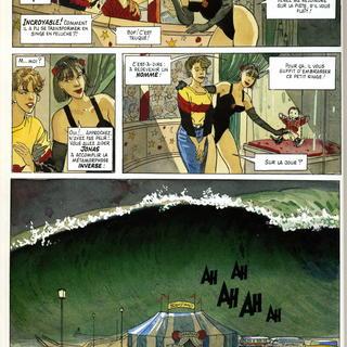 Maree Basse par Daniel Pecqueur, Jean-Pierre Gibrat