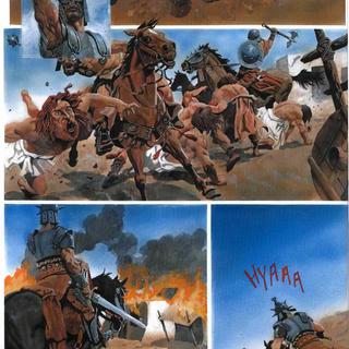 La Roue 2 Les 7 Combattants de Korot I par Drazen Kovacevic, Goran Skrobonja