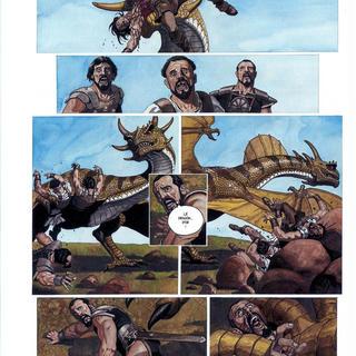 La Roue 4 Les 7 Combattants de Korot III par Drazen Kovacevic, Goran Skrobonja