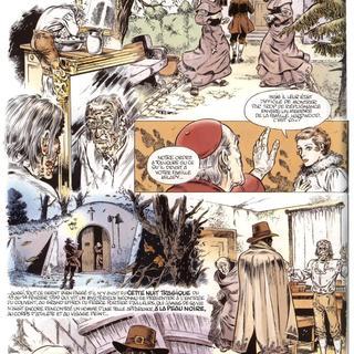 Les Jardins de la Peur 1 Le Caveau Hardwood par Eddy Paape, Jean-Claude Sohier, Jean Dufaux