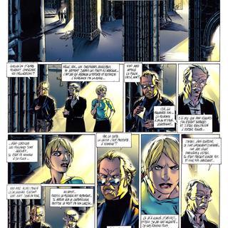 Asphodele 3 L'Ange Noir par Eric Corbeyran, Djillali Defali